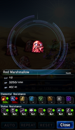 FFBE Red Marshmallow Analyze
