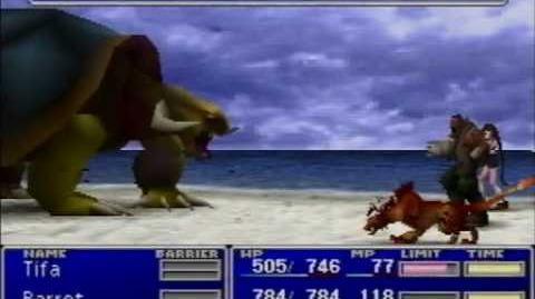 Final Fantasy VII - Adamantaimai Glitch - Data Error-0