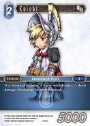 Knight 1-165C from FFTCG Opus