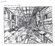 Wall Market FFVII Sketch