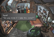 Water Stone location in Shumi Village from FFVIII Remastered