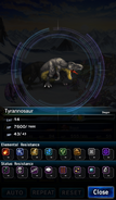 FFBE Tyrannosaur Analyze 3
