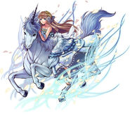 FFLTnS Unicorn God Artwork