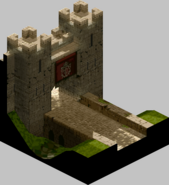 FFT-Outside Castle Gate in Lesalia