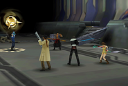 Fujin uses Haste from FFVIII Remastered