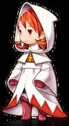 Refia as a White Mage in Final Fantasy III.
