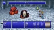 Rydia using Death from FFIV Pixel Remaster
