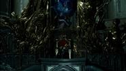 Ardyn on the throne in FFXV Episode Ardyn