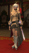 FFXIV Alisaie HW Outfit