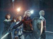 Final Fantasy III CG Art