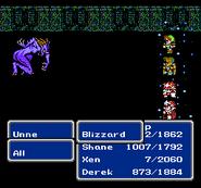 FFIII NES Blizzard