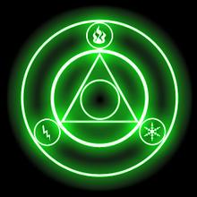 FFIV PSP Black Magic Circle 1.png