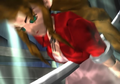 FFVII Aerith stabbed