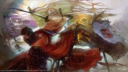 FFXIV A Requiem for Heroes Artwork