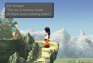 Ice Cavern inaccessible from FFIX Remastered