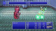 Rosa using Curaja from FFIV Pixel Remaster