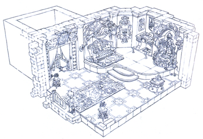 Alexandria Castle Brahne's Room FFIX Art.jpg