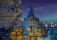 Castle Alexandria Roof by Alberto Forero