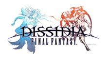 Dissidia Final Fantasy logo.