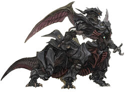 The Ultima Weapon in Final Fantasy XIV.