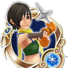KHUX KH1 Yuffie 5★ Medal.png