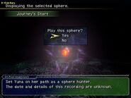 Sphere menu ffx-2