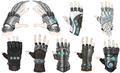 Tifas gloves artwork for FFVII Remake