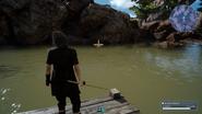Daurell Spring fishing from FFXV