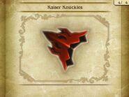 Kaiser KnucklesBS
