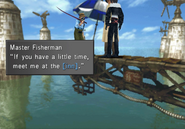 Master Fisherman wants to meet at the FH inn from FFVIII R