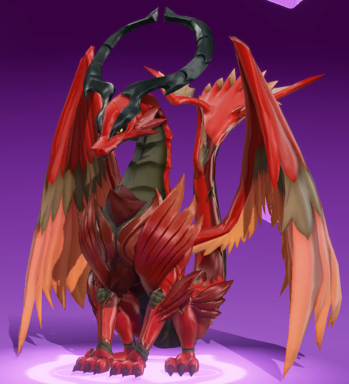 Mega Red Dragon
