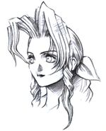 Aerith Portrait Sketch