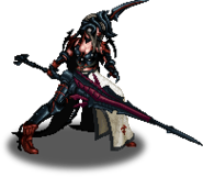 FFBE Aranea Enemy Sprite