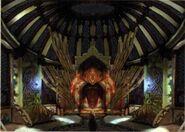 Inside Djose Temple