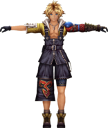 Tidus from WotV render 1