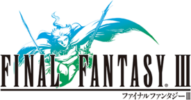 The Final Fantasy III logo.
