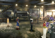 Queen of Cards in Winhill from FFVIII Remastered