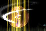 Sorceress A arriving into battle from FFVIII Remastered