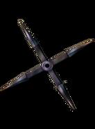 4-point Shuriken from FFVII concept art