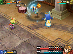 Final Fantasy Crystal Chronicles: Echoes of Time abilities