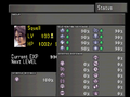 FFVIII Status Screen 1