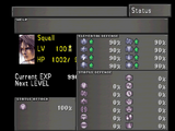 Final Fantasy VIII statuses