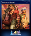 FFXX2 HD Steam Card Crimson Squad