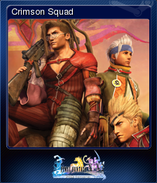 FFXX2 HD Steam Card Crimson Squad.png