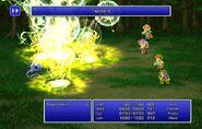 Maria using Thunder X from FFII Pixel Remaster