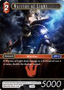 Warrior of Light 1-005R from FFTCG Opus