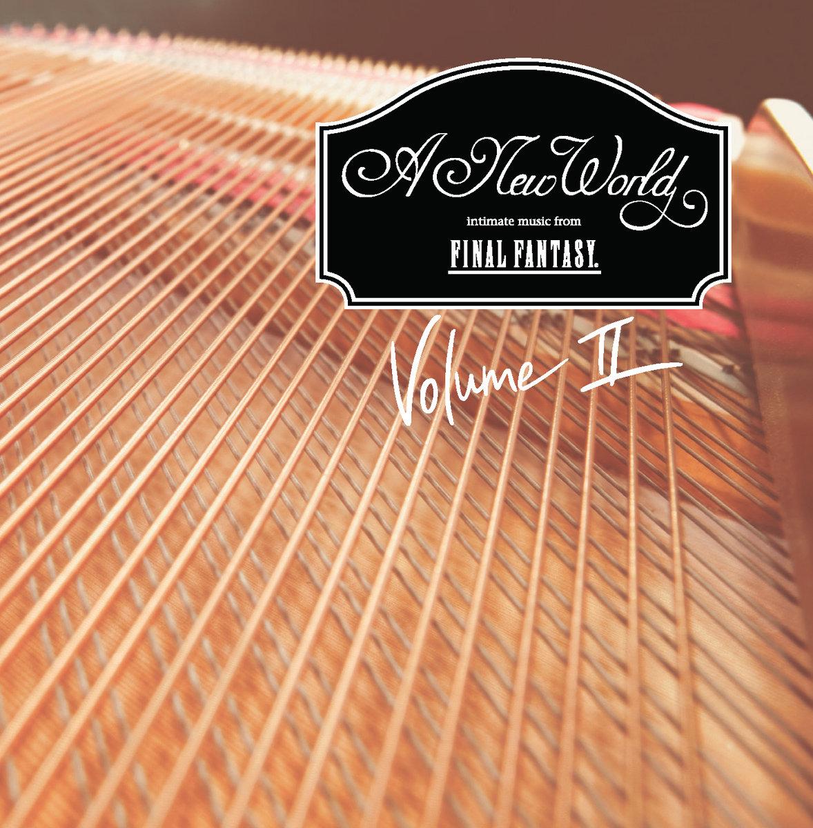 A New World intimate music volume II album cover.jpg