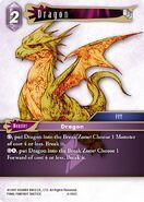 Dragon 4-106C from FFTCG Opus