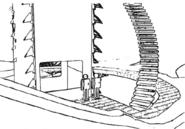 Elizabete station entrance concept for Final Fantasy Unlimited