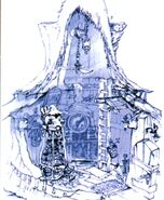 Black Mage Village FFIX Art 4